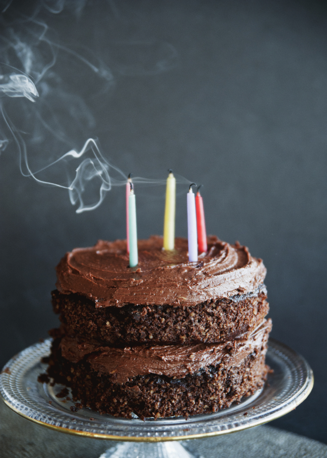 Sweet Laurel Chocolate Layer Cake