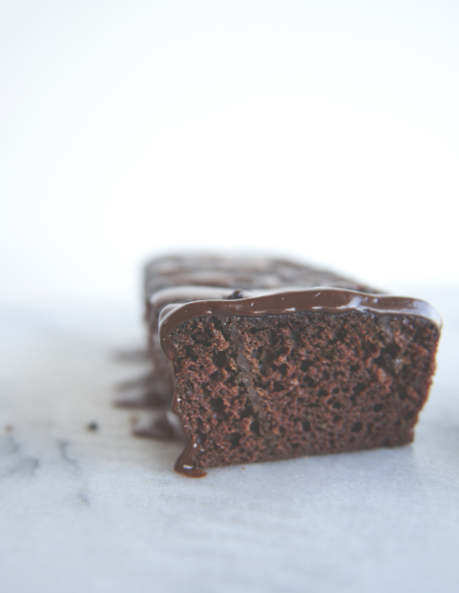 Double Chocolate Zucchini Bread // Sweet Laurel