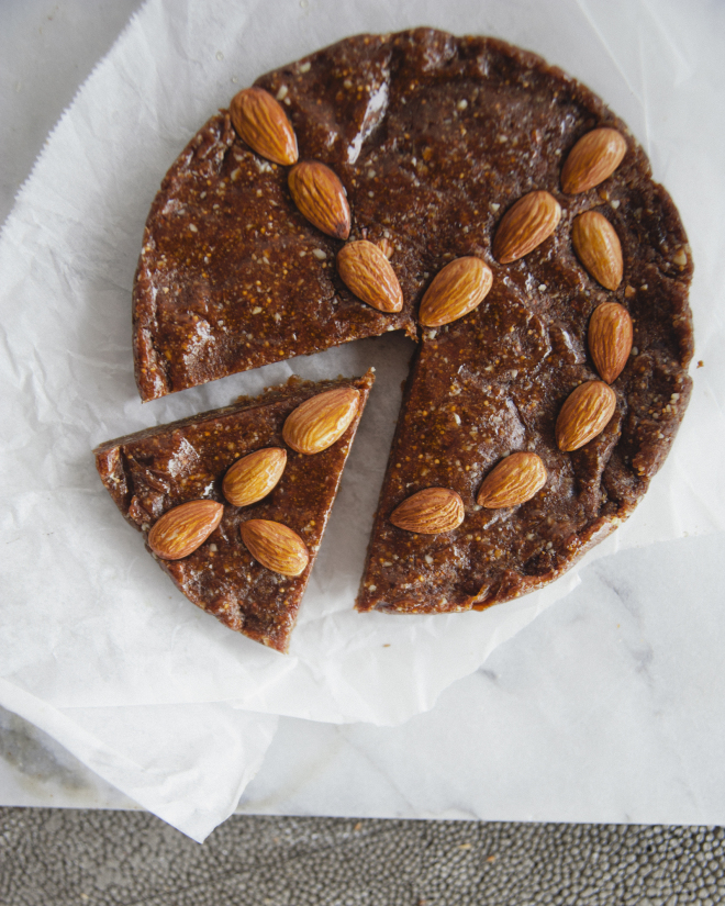 Fig Almond Cake // Sweet Laurel