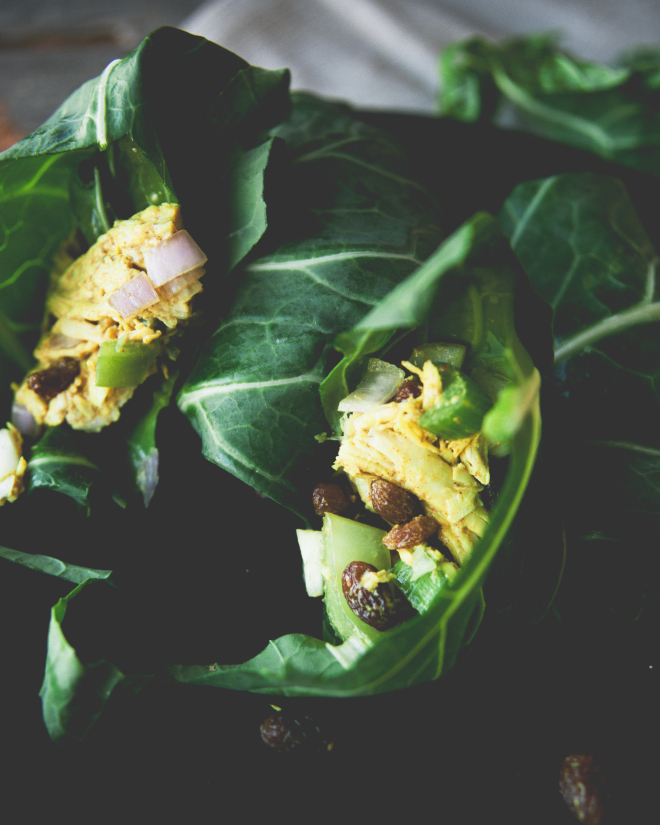 Curried Chicken Wraps // Sweet Laurel