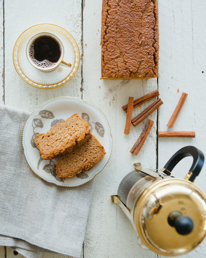 Pumpkin Spice Latte Bread // Sweet Laurel