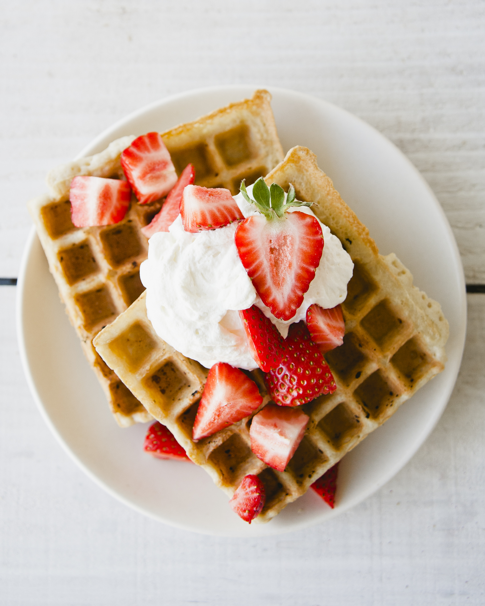 Strawberry Shortcake Waffles \ Sweet Laurel