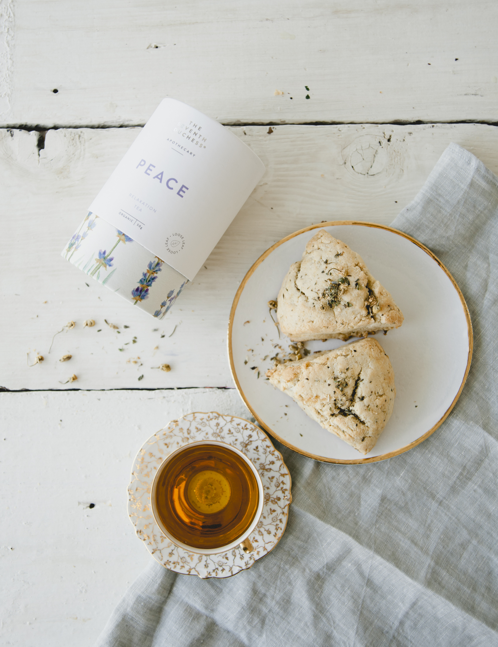 Seven Duchess Scones \ Sweet Laurel x Seven Duchess Tea
