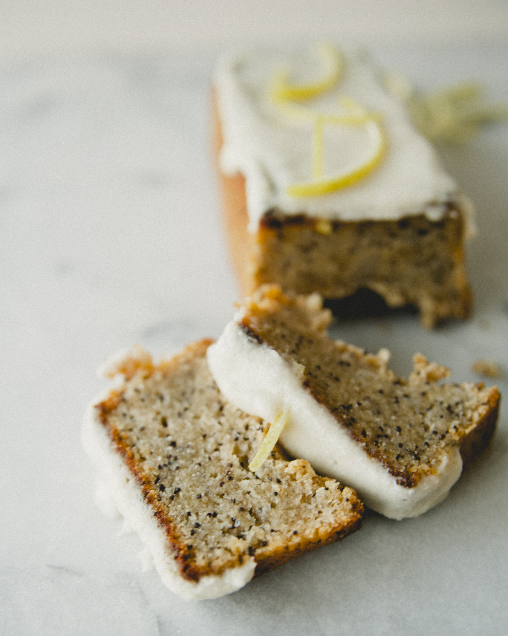 Vegan Lemon Poppyseed Teacakes \ Sweet Laurel