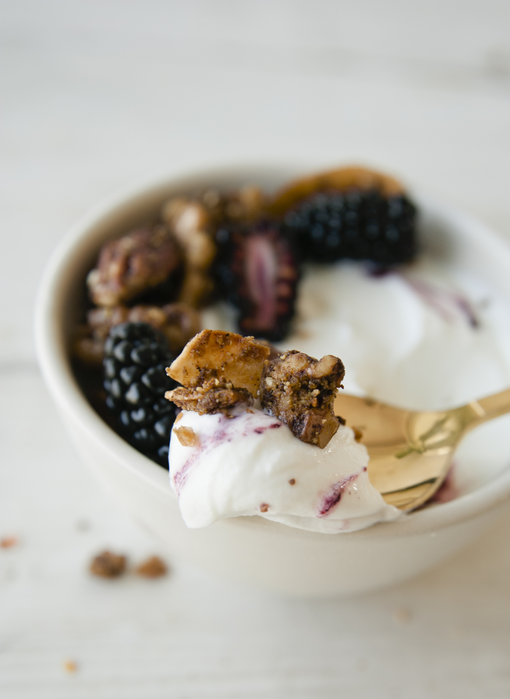 Coconut Yogurt Breakfast Bowls with Grain Free Granola \ Sweet Laurel