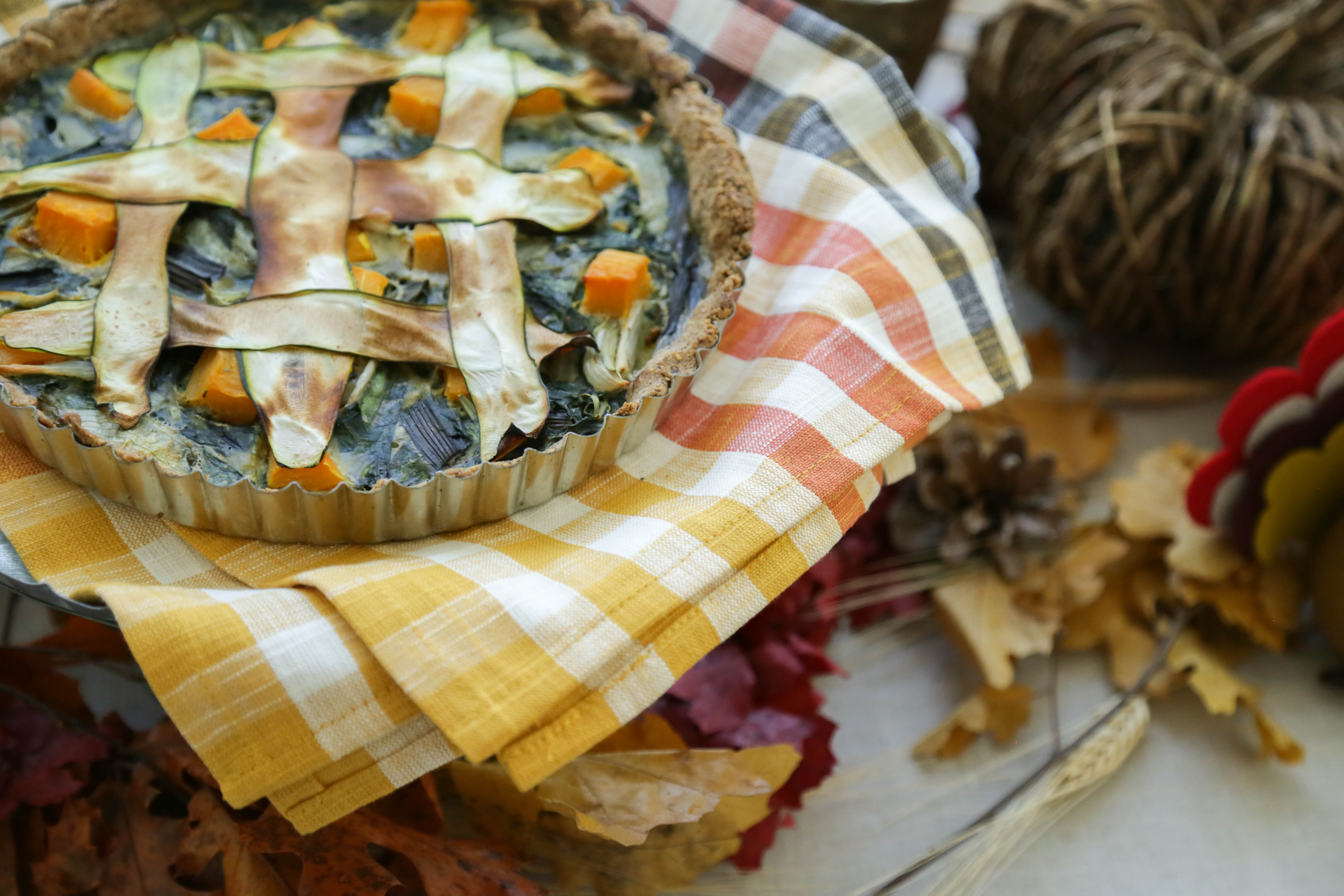 Swiss Chard and Butternut Squash Tart \ Sweet Laurel x Molly Sims