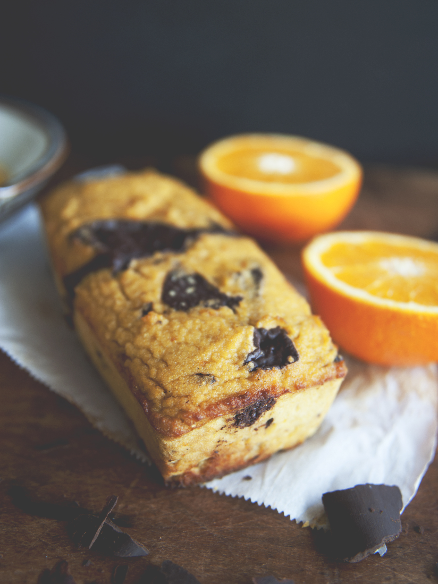 Orange Chocolate Tea Cake \ Sweet Laurel