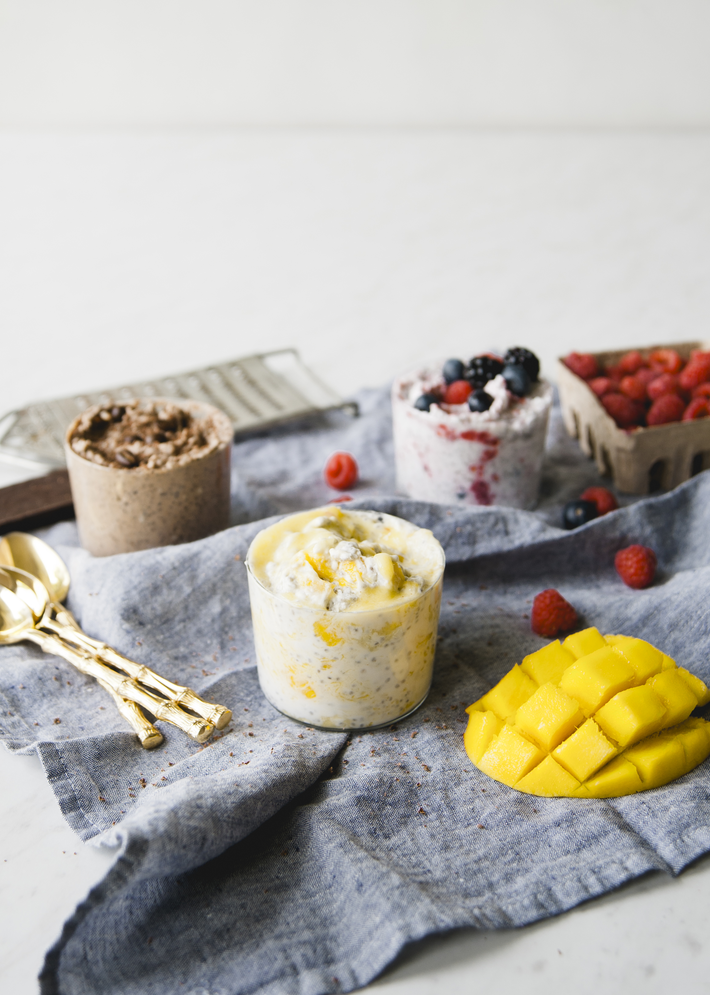 Mango Chia Seed Pudding \ Sweet Laurel